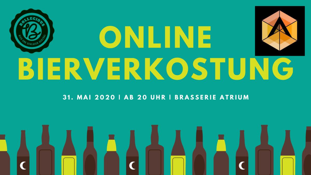 Online Bierverkostung Brasserie Atrium